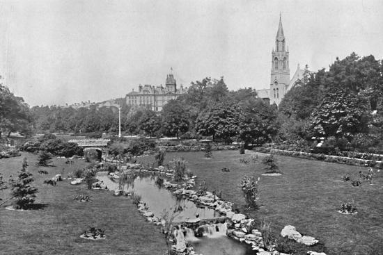 'The Upper Gardens', c1910-Unknown-Photographic Print