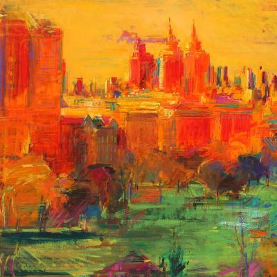 The Upper West Side, 2011-Peter Graham-Giclee Print