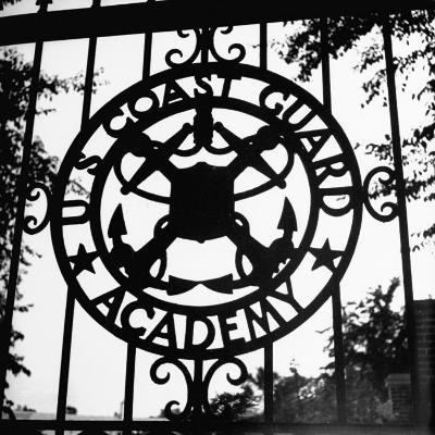 The Us Coast Guard Academy Gate-William C^ Shrout-Photographic Print