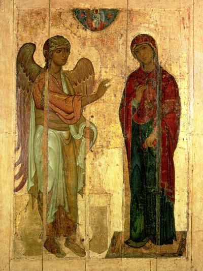 The Ustiug Annunciation, circa 1130-40--Giclee Print