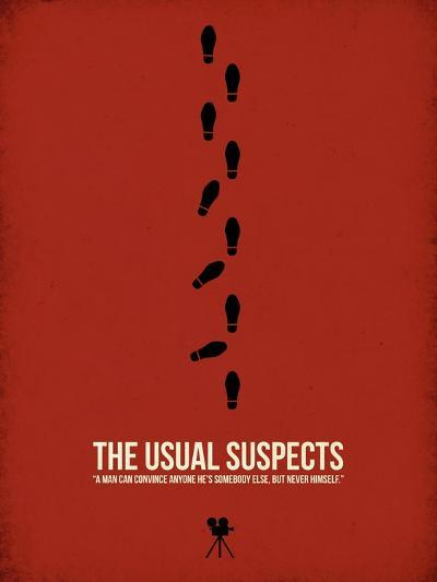 The Usual Suspects-David Brodsky-Art Print