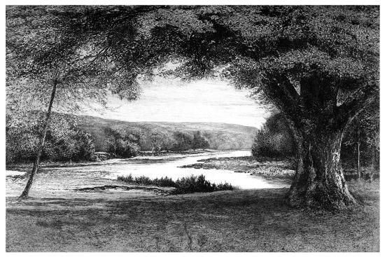 The Vale of Avoca, 1895-Joseph Francis Walker-Giclee Print
