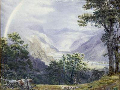 The Vale of Ffestiniog, from Tan-Y-Bwlch Hall-J^ M^ W^ Turner-Giclee Print