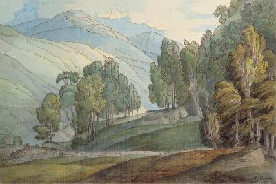 The Vale of St. John, 1786-Francis Towne-Giclee Print