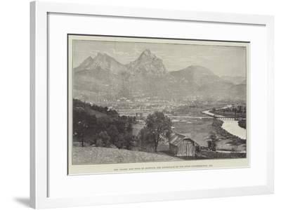 The Valley and Town of Schwytz, the Birthplace of the Swiss Confederation, 1291--Framed Giclee Print