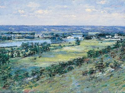 The Valley of the Seine, from the Hills of Giverny, 1892-Theodore Robinson-Giclee Print