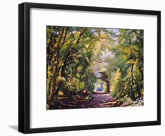 The Valley Walk, Sudbury, 2001-Christopher Ryland-Framed Giclee Print