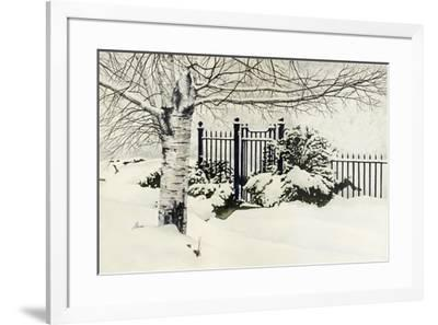 The Value of White-John Morrow-Framed Giclee Print
