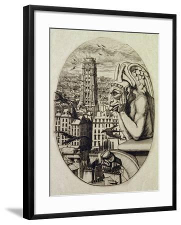 The Vampire (Le Stryge), 1853-Charles Meryon-Framed Giclee Print