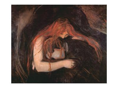 The Vampire-Edvard Munch-Art Print