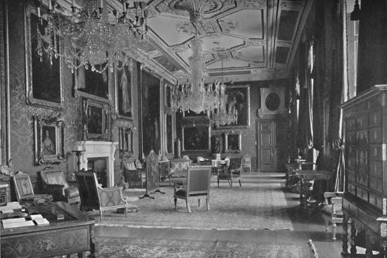 'The Van Dyck Room, Windsor Castle', 1927-Unknown-Photographic Print
