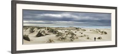 The Vast Empty Beach and Sand Dunes of Sao Jacinto in Winter, Beira Litoral, Portugal-Mauricio Abreu-Framed Photographic Print