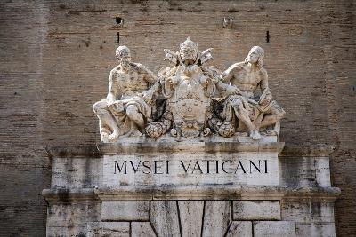 The Vatican Museums, Musei Vaticani, are the public art and sculpture museums in the Vatican Cit...--Photographic Print