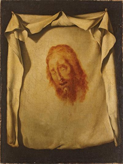 The Veil of Saint Veronica-Francisco de Zurbar?n-Giclee Print