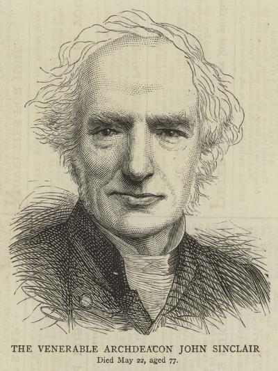 The Venerable Archdeacon John Sinclair--Giclee Print