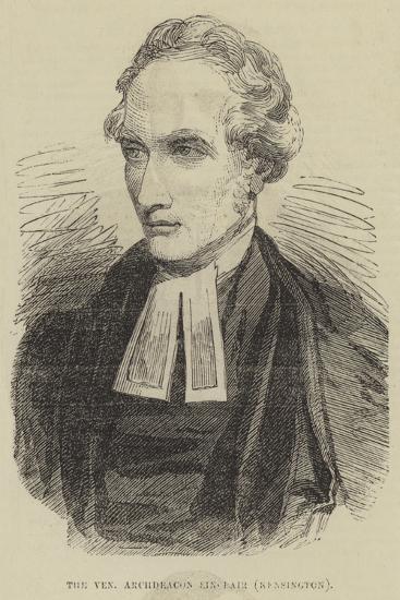 The Venerable Archdeacon Sinclair, Kensington--Giclee Print