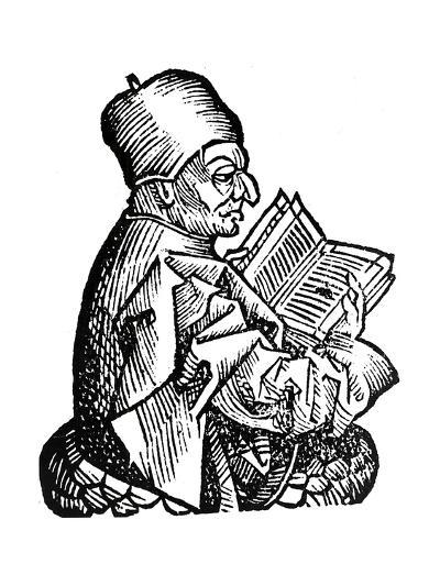 The Venerable Bede (C673-73), Anglo-Saxon Theologian, Scholar and Historian, 1493--Giclee Print