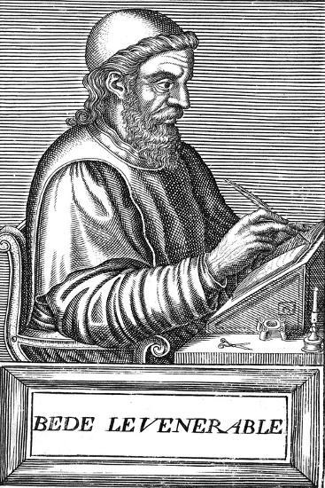 The Venerable Bede (C673-73), Anglo-Saxon Theologian, Scholar and Historian, C1584--Giclee Print