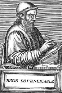 The Venerable Bede (C673-73), Anglo-Saxon Theologian, Scholar and Historian, C1584