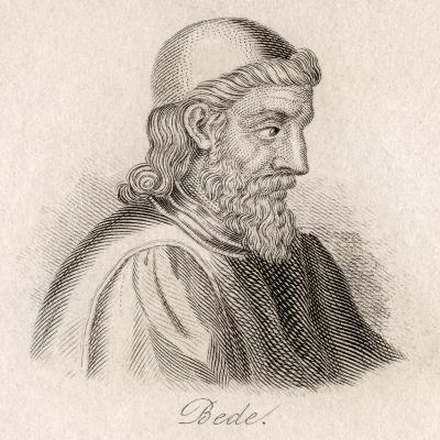 The Venerable Bede-J.W. Cook-Giclee Print