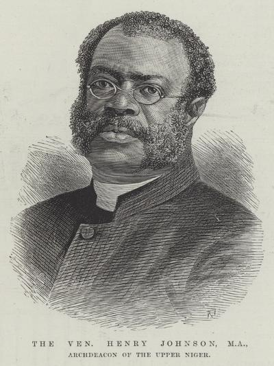 The Venerable Henry Johnson, Ma, Archdeacon of the Upper Niger--Giclee Print
