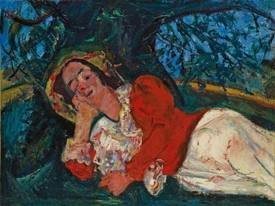 The Venetian Woman, C. 1926-Chaim Soutine-Giclee Print