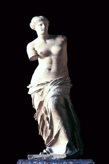 The Venus de Milo, 2nd century BC. Artist: Unknown-Unknown-Giclee Print
