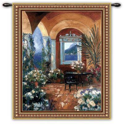 The Veranda--Wall Tapestry