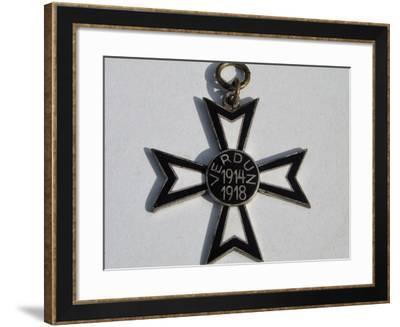The Verdun Cross--Framed Giclee Print