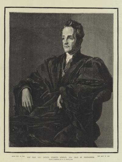 The Very Reverend Arthur Penrhyn Stanley, Dean of Westminster-George Frederick Watts-Giclee Print