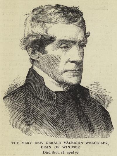 The Very Reverend Gerald Valerian Wellesley, Dean of Windsor--Giclee Print