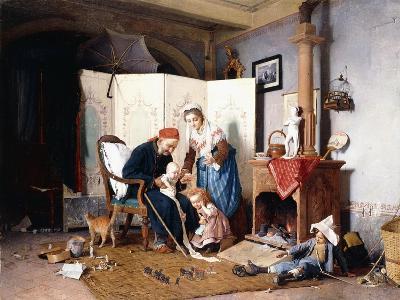 The Veteran, 1878-Gaetano Chierici-Giclee Print