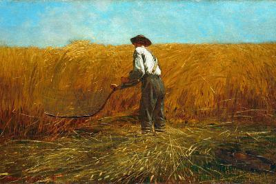 The Veteran in a New Field, 1865-Winslow Homer-Giclee Print