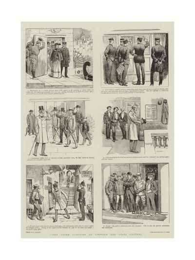 The Vexed Question of Uniform and Plain Clothes-William Ralston-Giclee Print