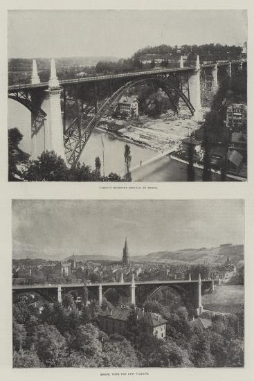 The Viaduct at Bern--Giclee Print