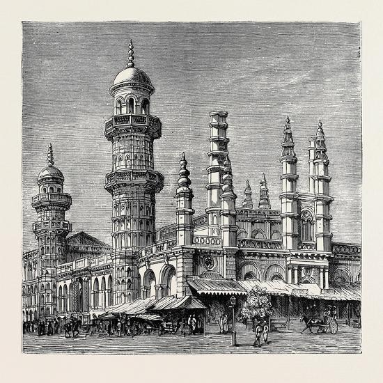 The Viceroy of India's Visit to Rangoon, British Burma: Mahomedan Mosque--Giclee Print