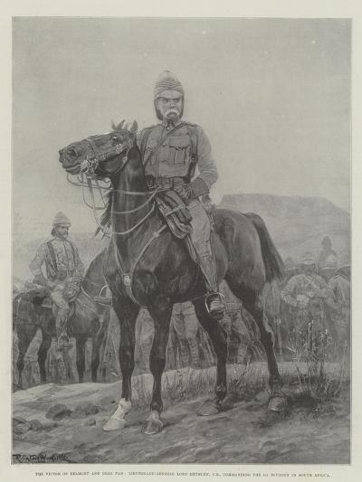 The Victor of Belmont and Gras Pan-Richard Caton Woodville II-Giclee Print
