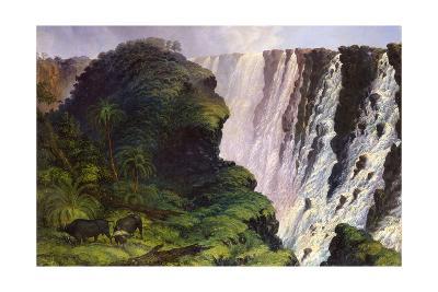 The Victoria Falls-Thomas Baines-Giclee Print