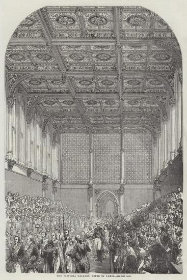 The Victoria Gallery, House of Lords--Giclee Print