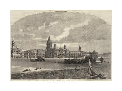 The Victoria Hospital at Netley Near Southampton--Giclee Print