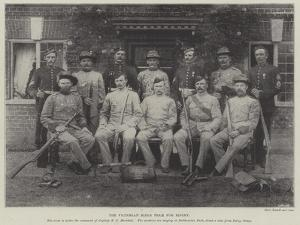 The Victorian Rifle Team for Bisley