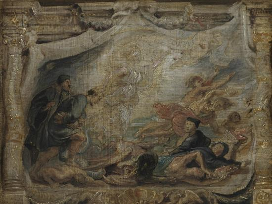 The Victory of the Eucharist over Heresy, C.1625-26--Giclee Print