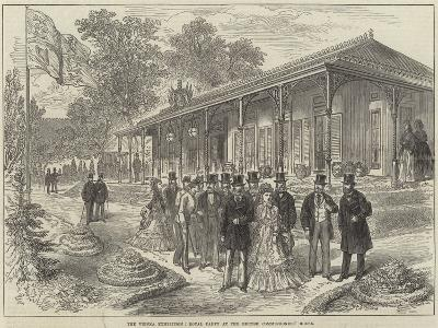 The Vienna Exhibition, Royal Party at the British Commissioners' House--Giclee Print