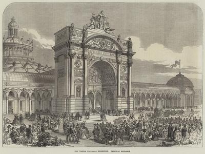 The Vienna Universal Exhibition, Principal Entrance--Giclee Print