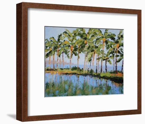 The View at Humu-Leslie Saeta-Framed Art Print