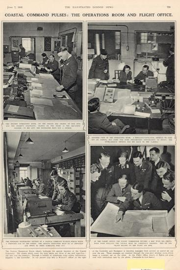 The Vigil of the Coastal Command, from 'The Illustrated London News', 7th June 1941--Photographic Print
