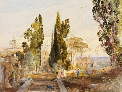 The Villa d'Este, 19th Century-Samuel Palmer-Giclee Print