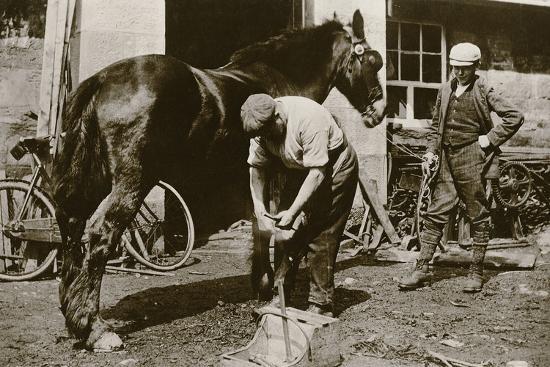 The Village Blacksmith--Photographic Print