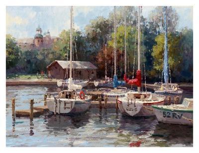The Village Dock-Furtesen-Art Print