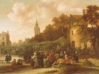 The Village Fair, 17th Century-Salomon Rombouts-Giclee Print